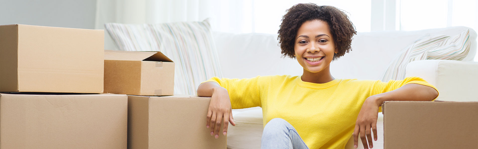Woman Ready for Relocation Assistance